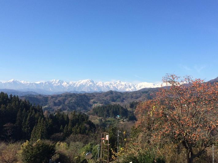 岩草公会堂からの風景