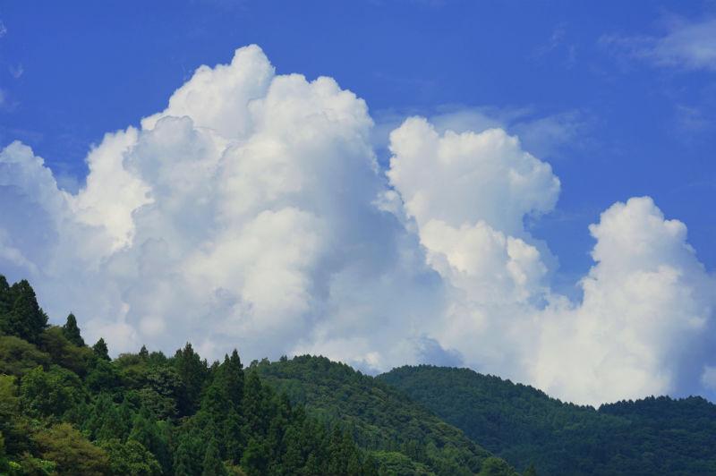 夏らしい雲がでてきました④