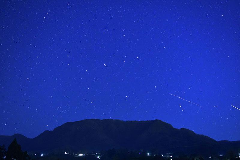 星と陣場平山(冬編)