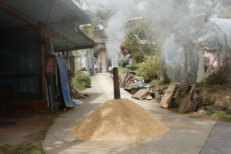 モミガラ焼