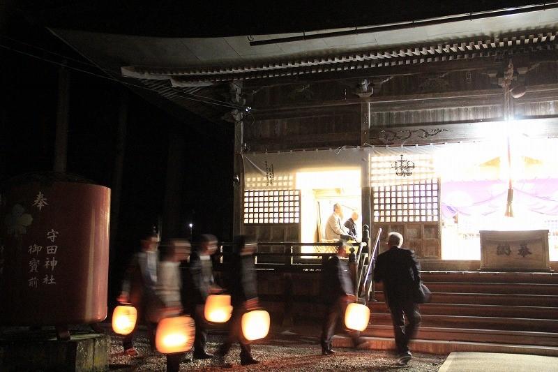 守田神社宵祭り(1/4)