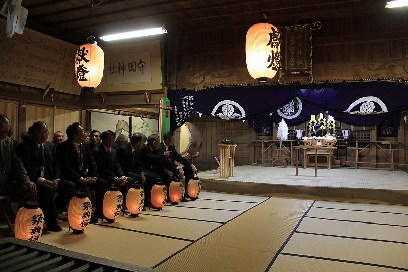 守田神社宵祭り(2/4)