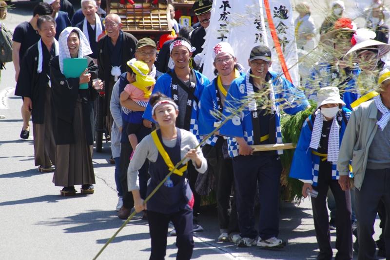 守田神社春季例大祭(2/2)