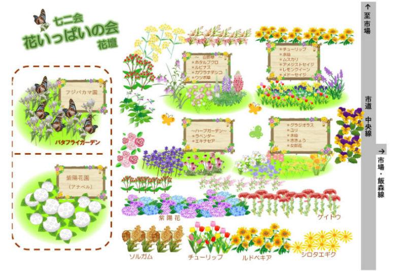花壇の名前を募集します!!