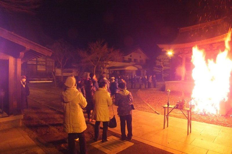 正源寺さん除夜会へお詣りしました