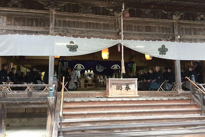 守田神社の例大祭